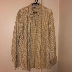 L.L. Bean 100% Cotton Button Down Shirt